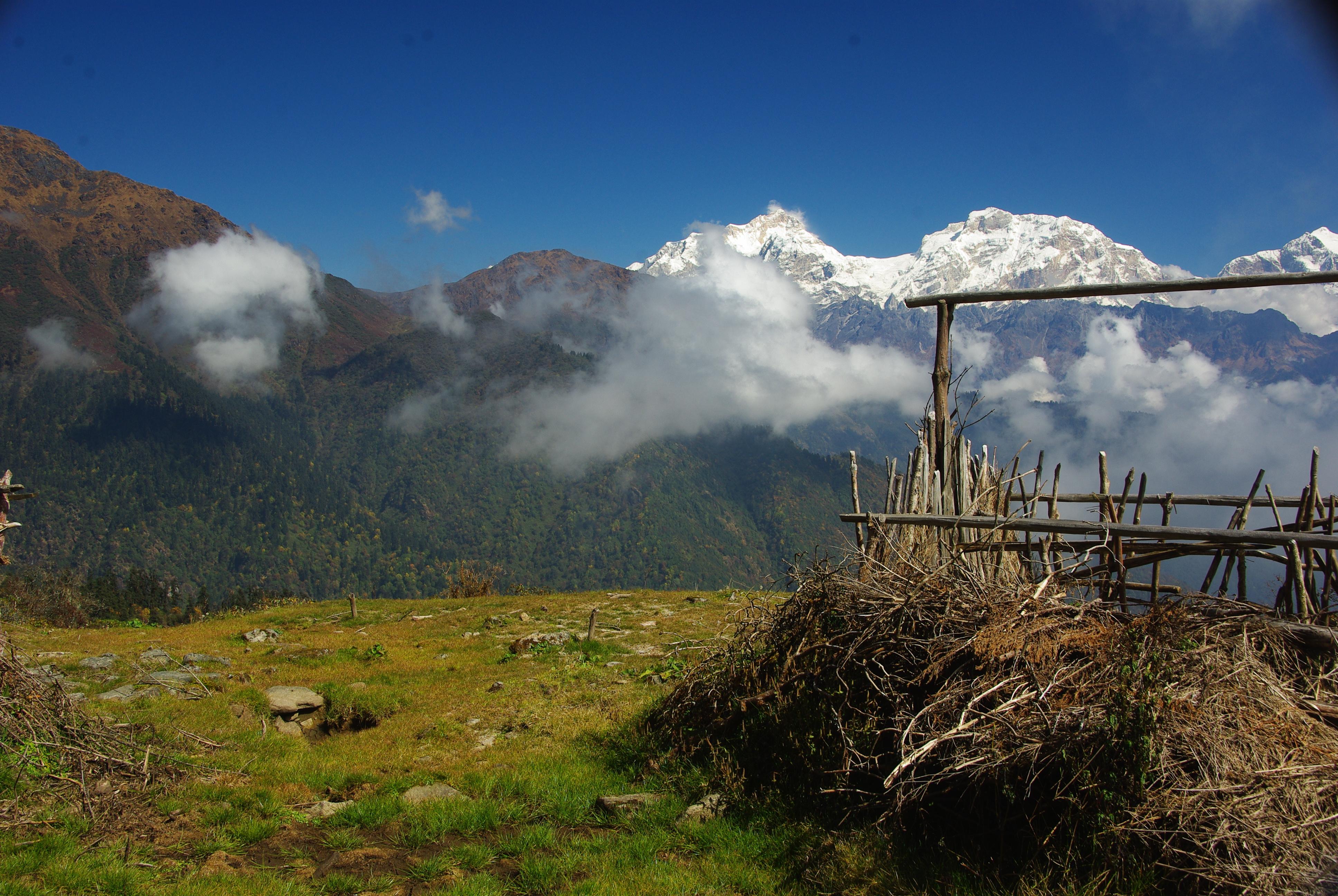 raid vtt au Népal tour Annapurna