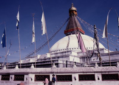 Bodnath en 1981