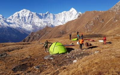 Camp de base du Saipal