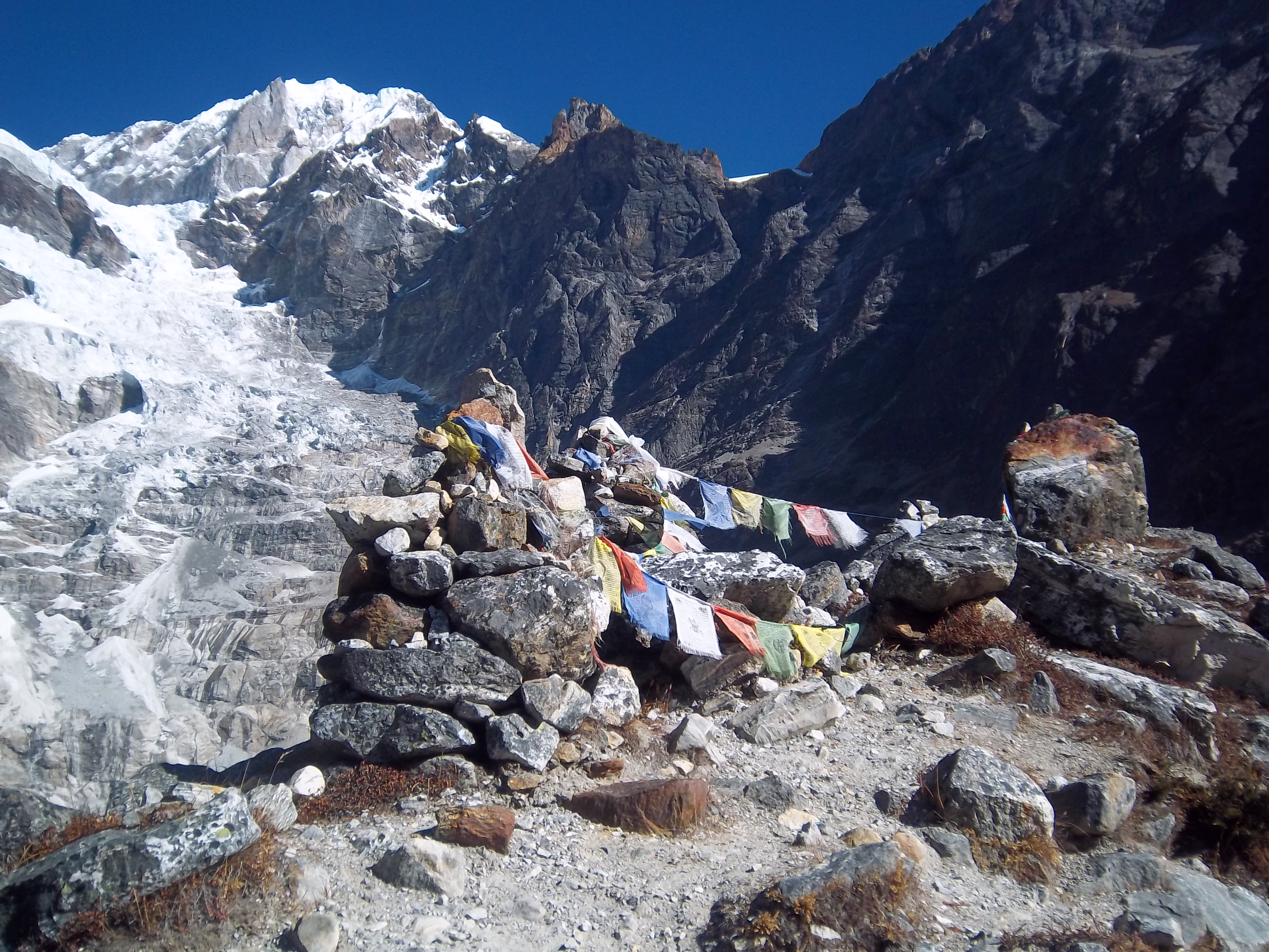 Népal ascension Baruntse