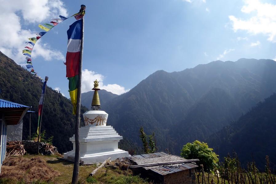 Entre Tumlingtar et Lukla région Everest