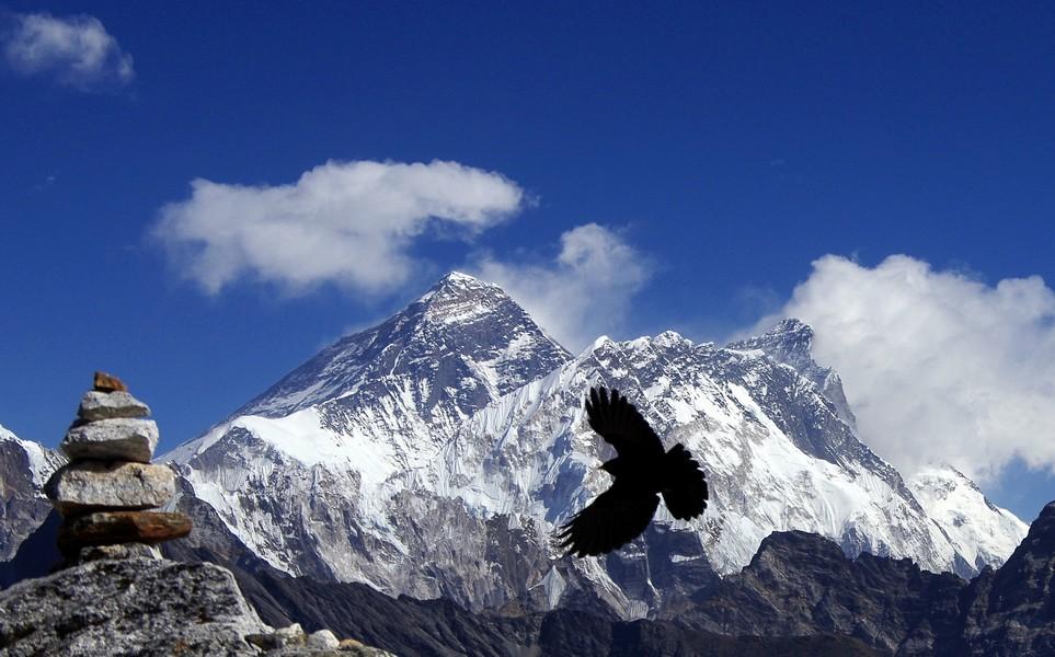 Everest depuis le kala pattar