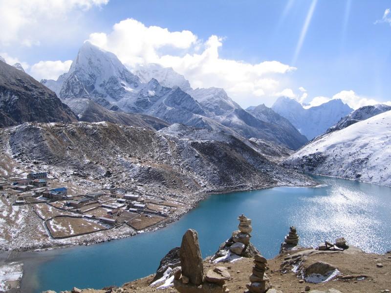 Gokyo et son lac région Everest