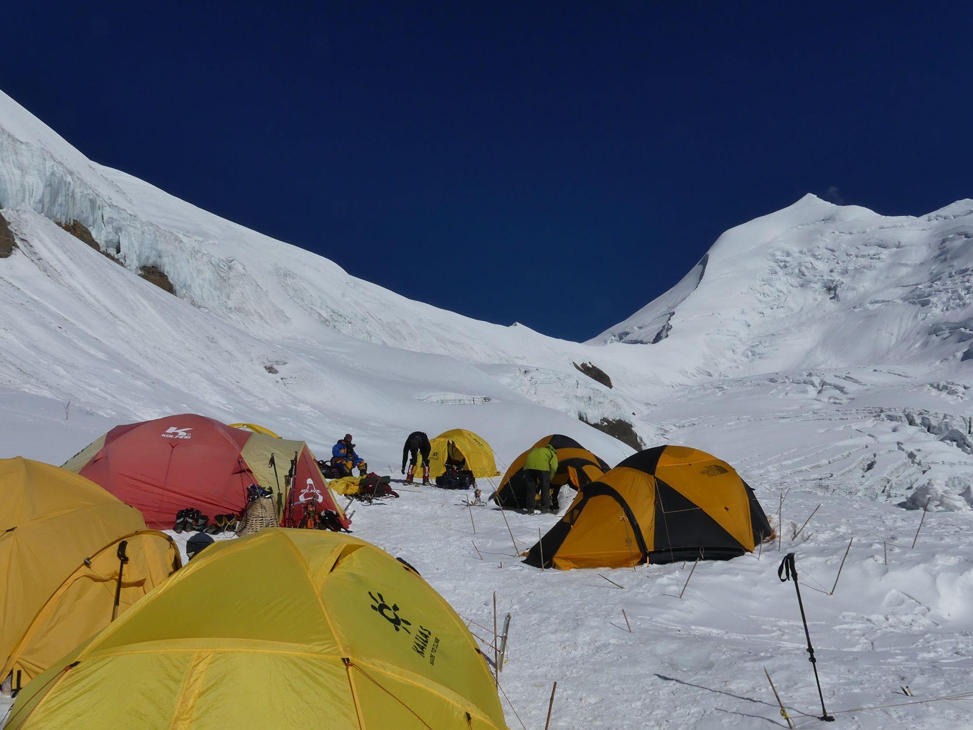 Himlung Camp II tente North face VE25