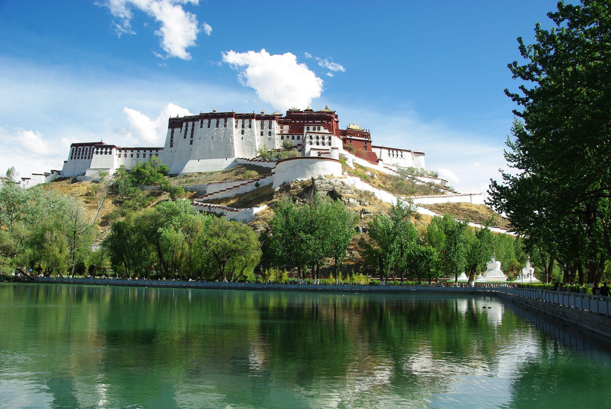 Potala à Lhassa, Tibet
