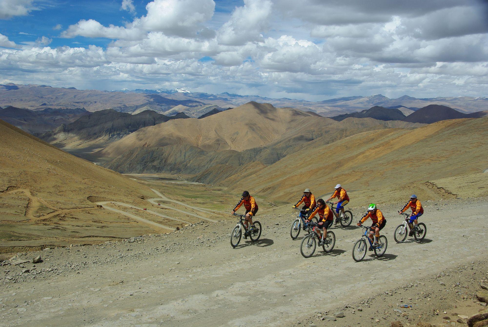 Vélo au Tibet