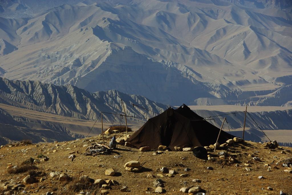 tente nomade du Mustang