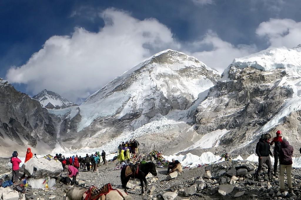 Le vrai camp de base de l'Everest