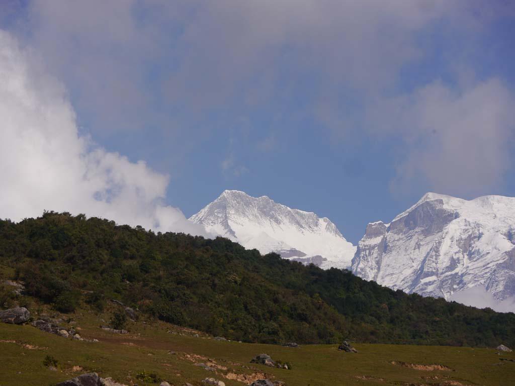 Balcon des Annapurna, vue Annapurna II