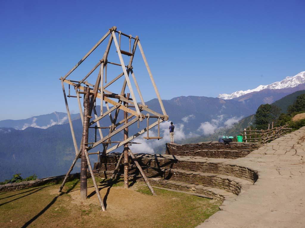 Trek balcon des Annapurna, balncoire de Dasain