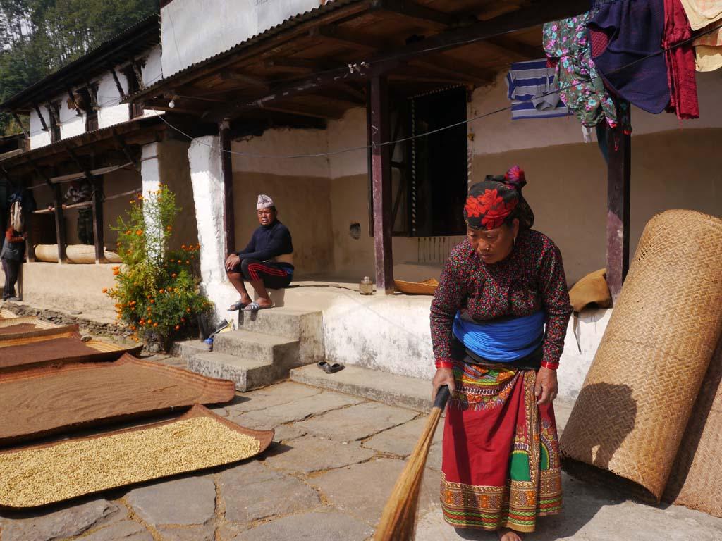 Trek balcon des Annapurna, villages