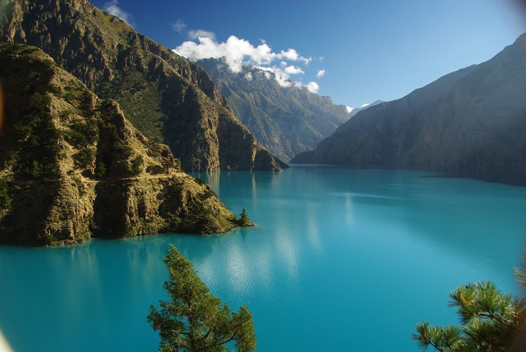Bas Dolpo, au bord du lac Phoksundo