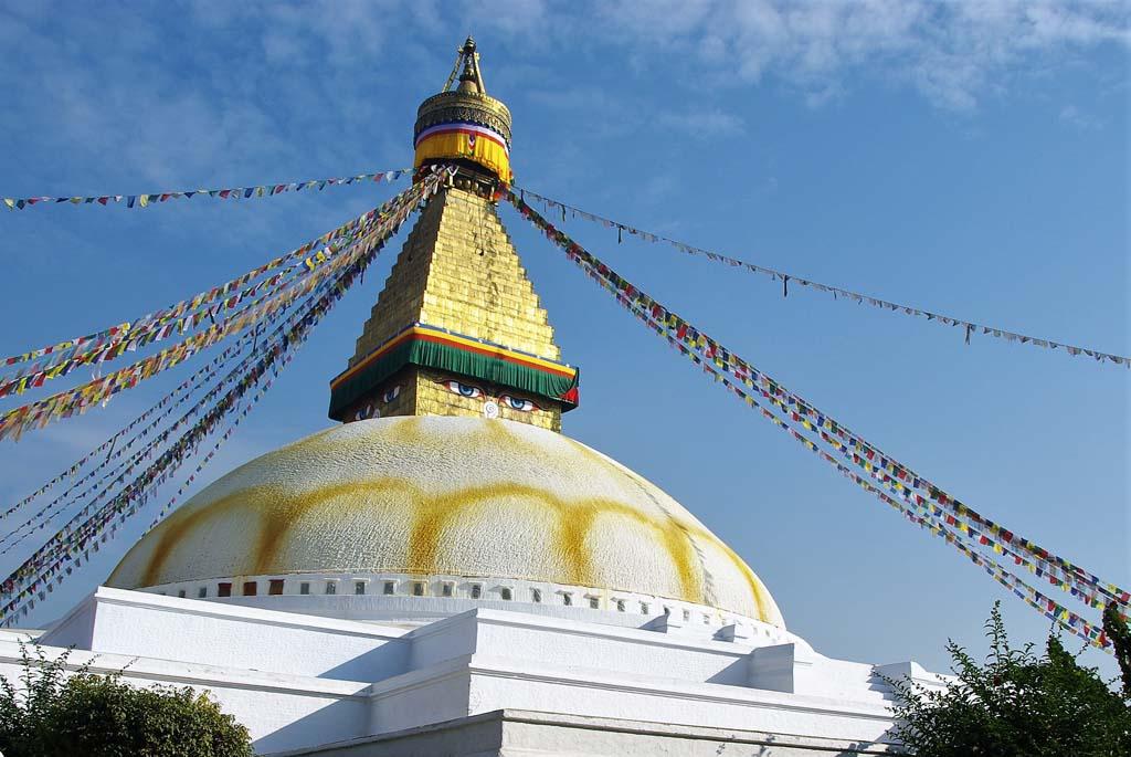 Circuit Népal stupa de Bodnath