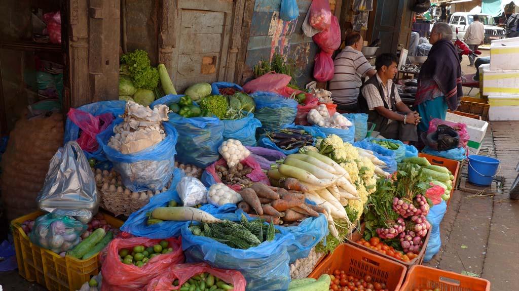 Circuit Népal marché