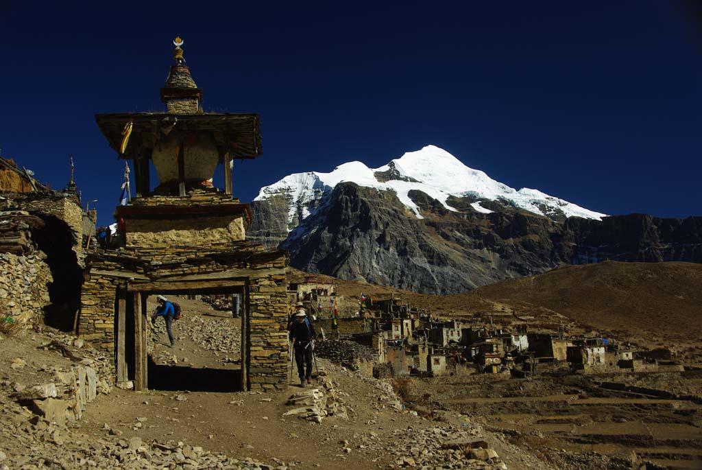 Trek haute route des Annapurna, Naar
