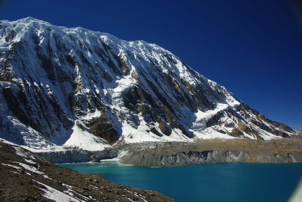 Haute route des Annapurna, lac Tilicho