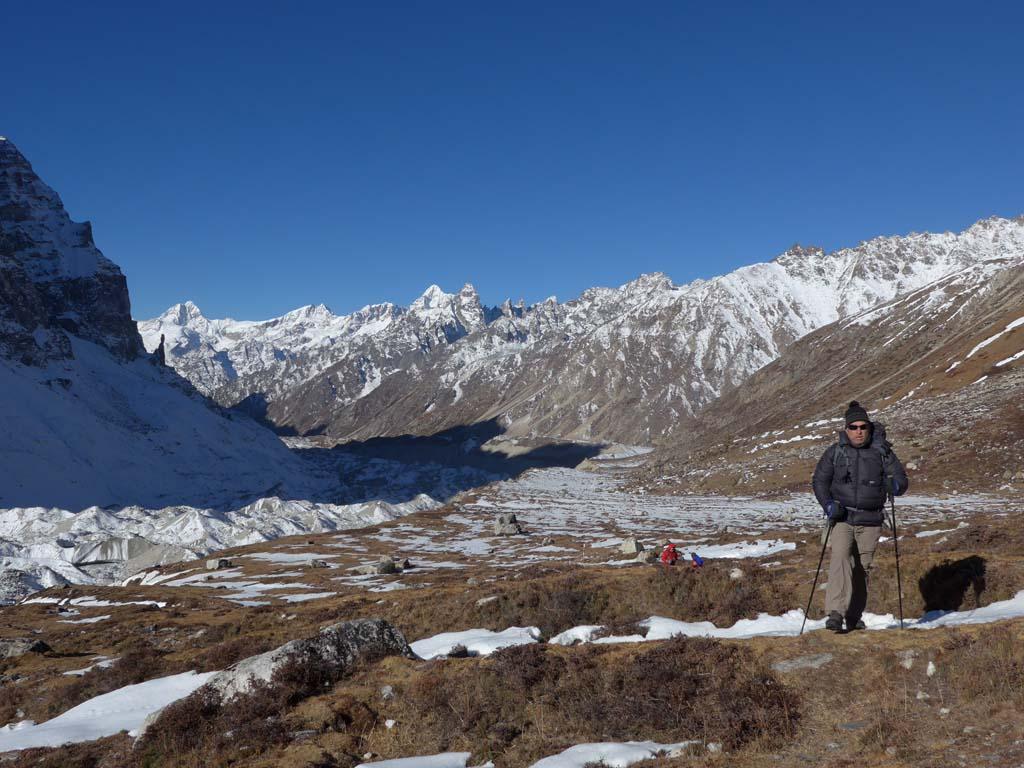 Traversée Kanchenjunga au Makalu, camp de base nord