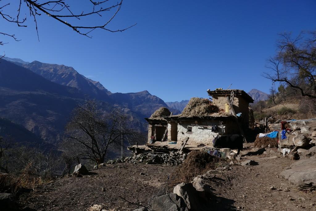 Maison de l'ouest du Népal