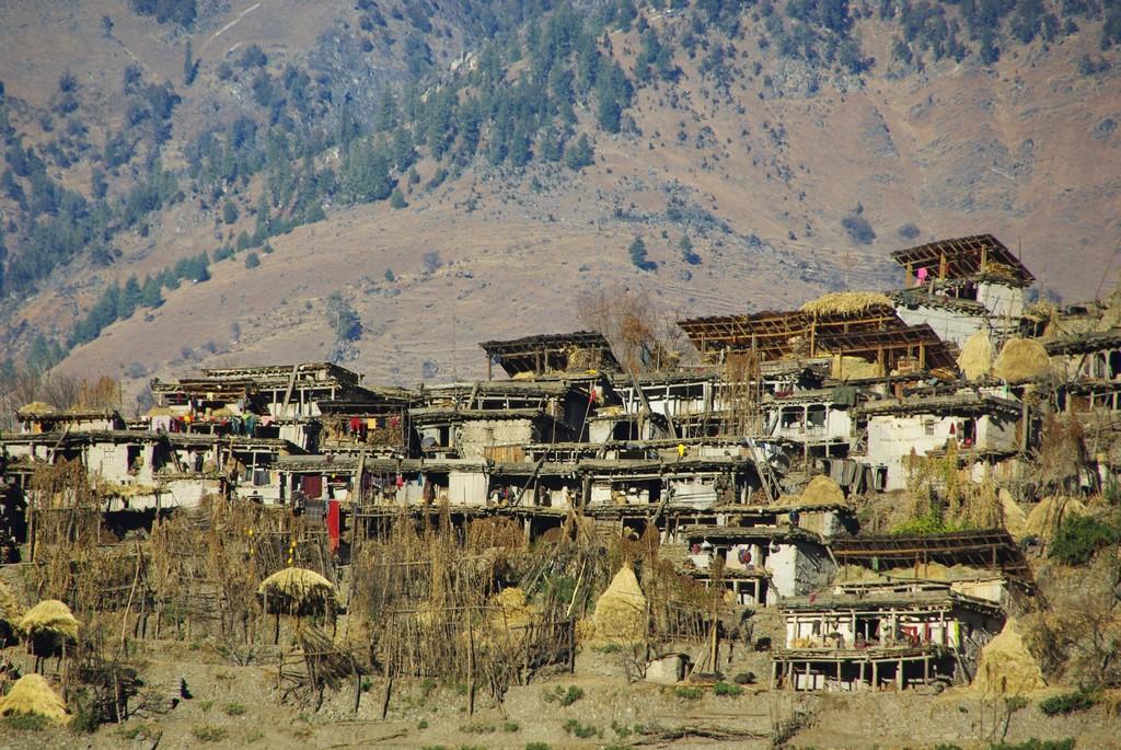 Maisons traditionnelles, ouest du Népal