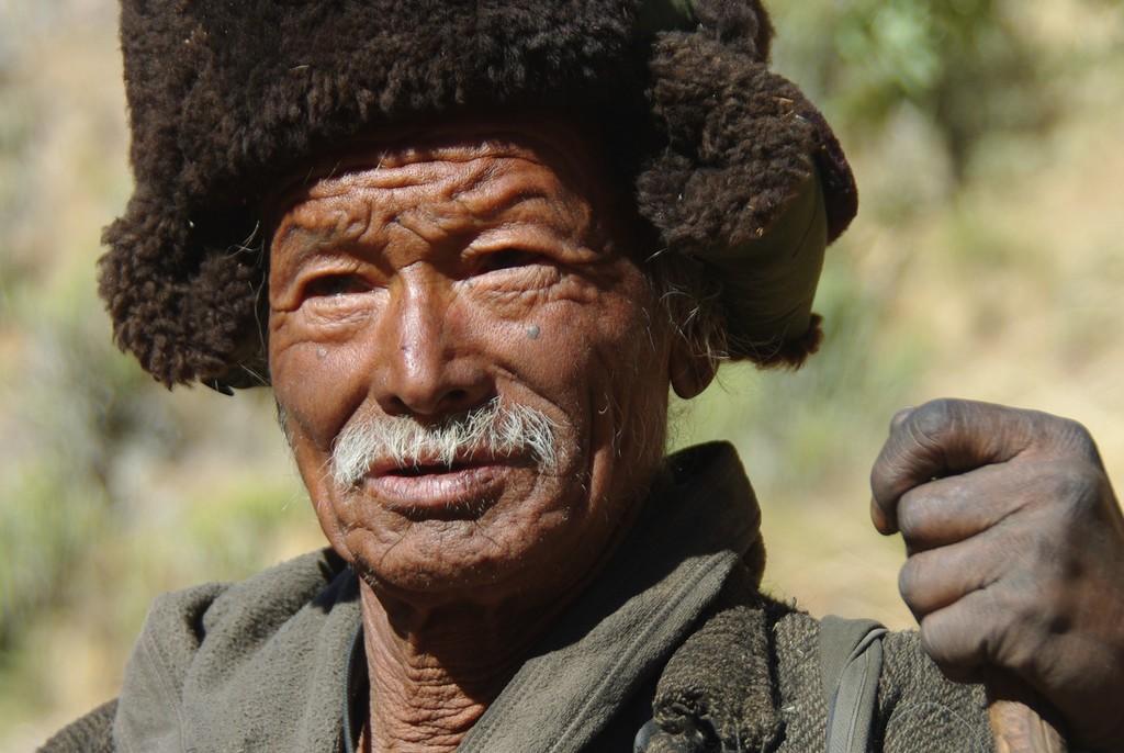 Nomade de l'ouest du Népal