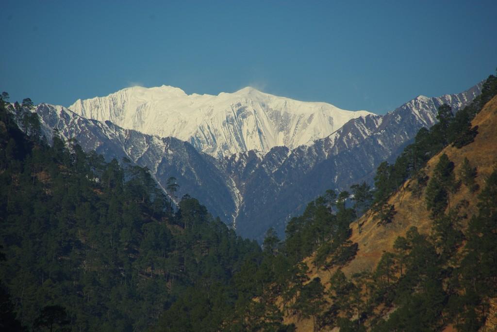 Vue sur le Saipal, ouest du Népal