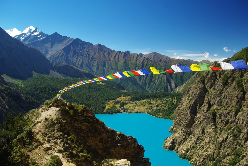 Traversée Haut Dolpo Mustang, lac Phoksundo