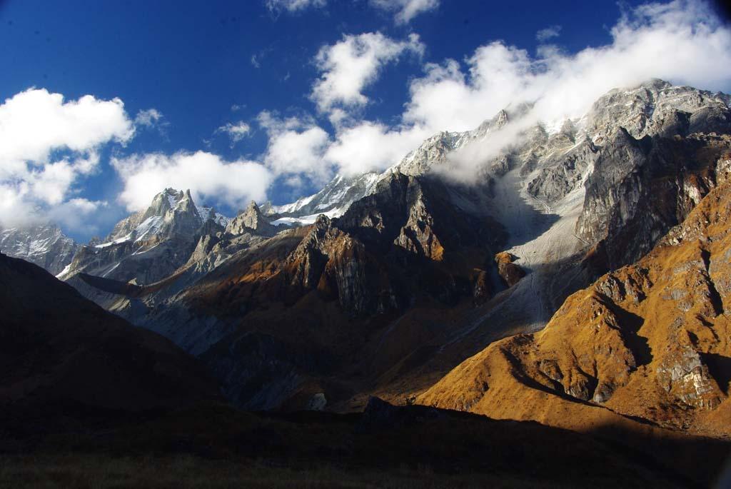 Trek haute route des Annapurna, namun La