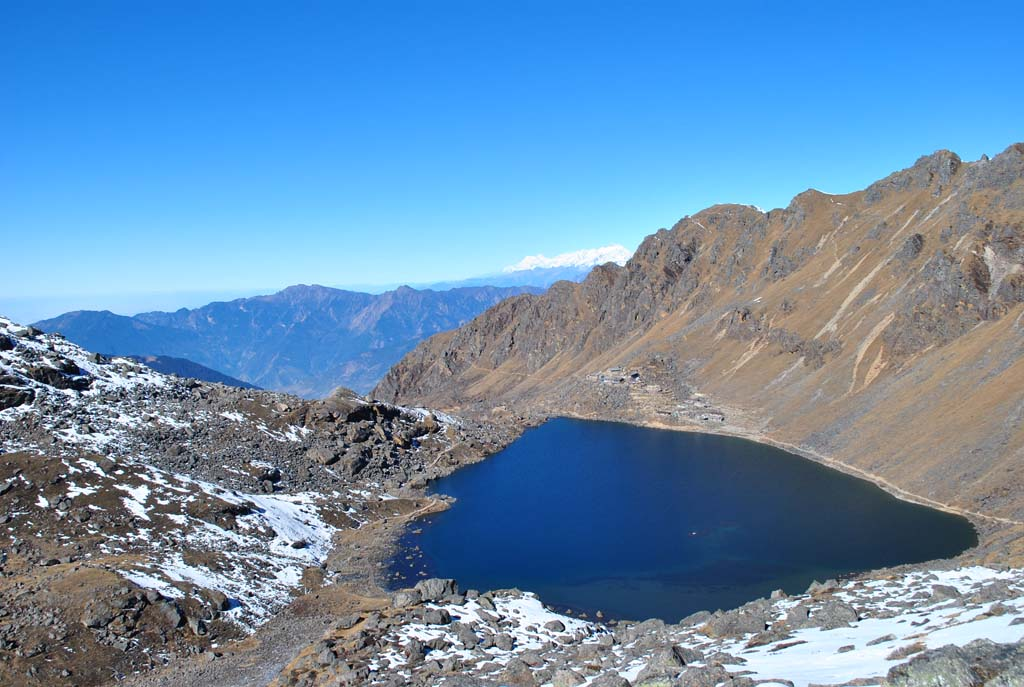 Trek Langtang, lac Gosainkund