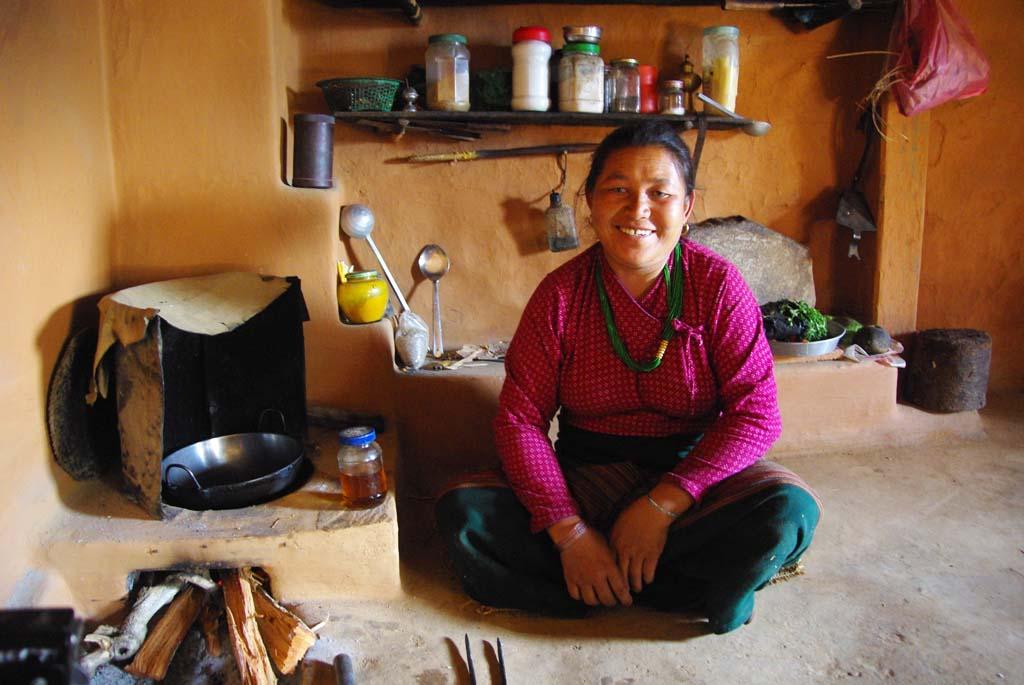 Népal chez l'habitant