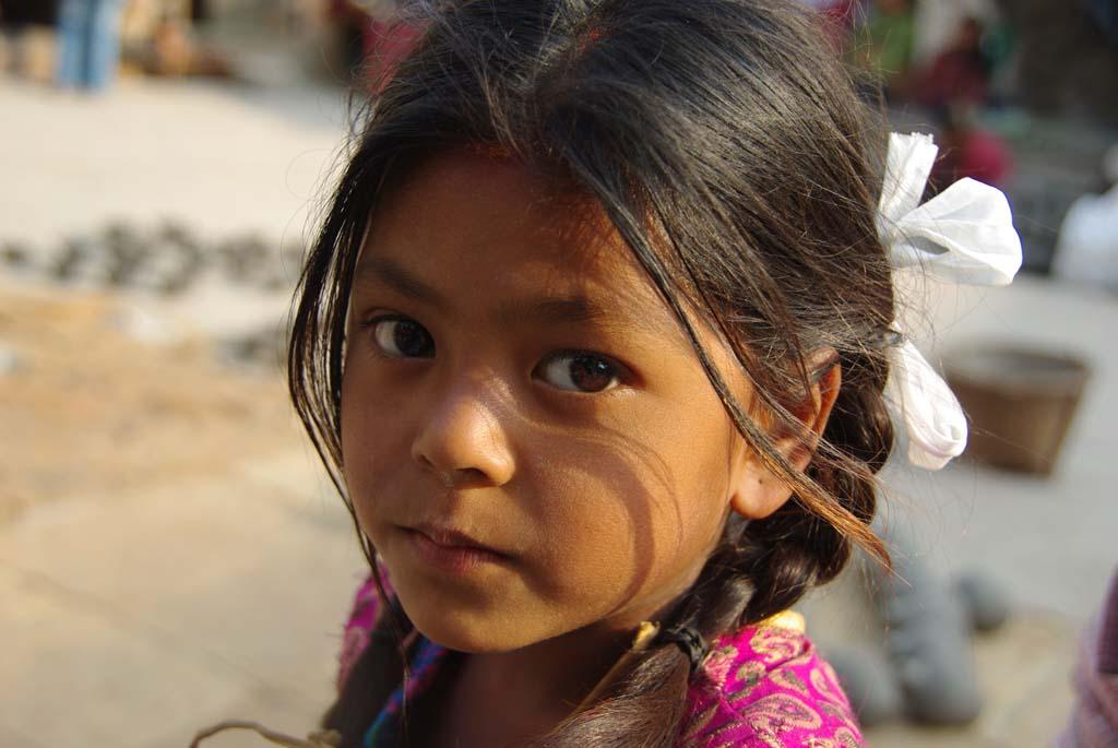 Trek Népal chez l'habitant, enfant