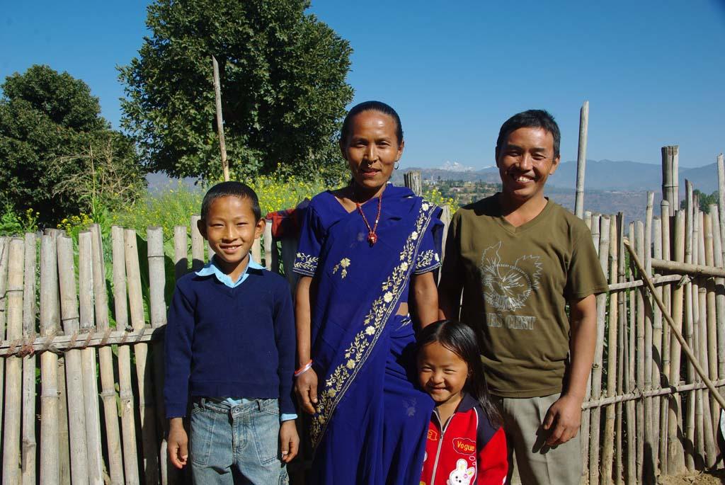 Trek Népal chez l'habitant, famille