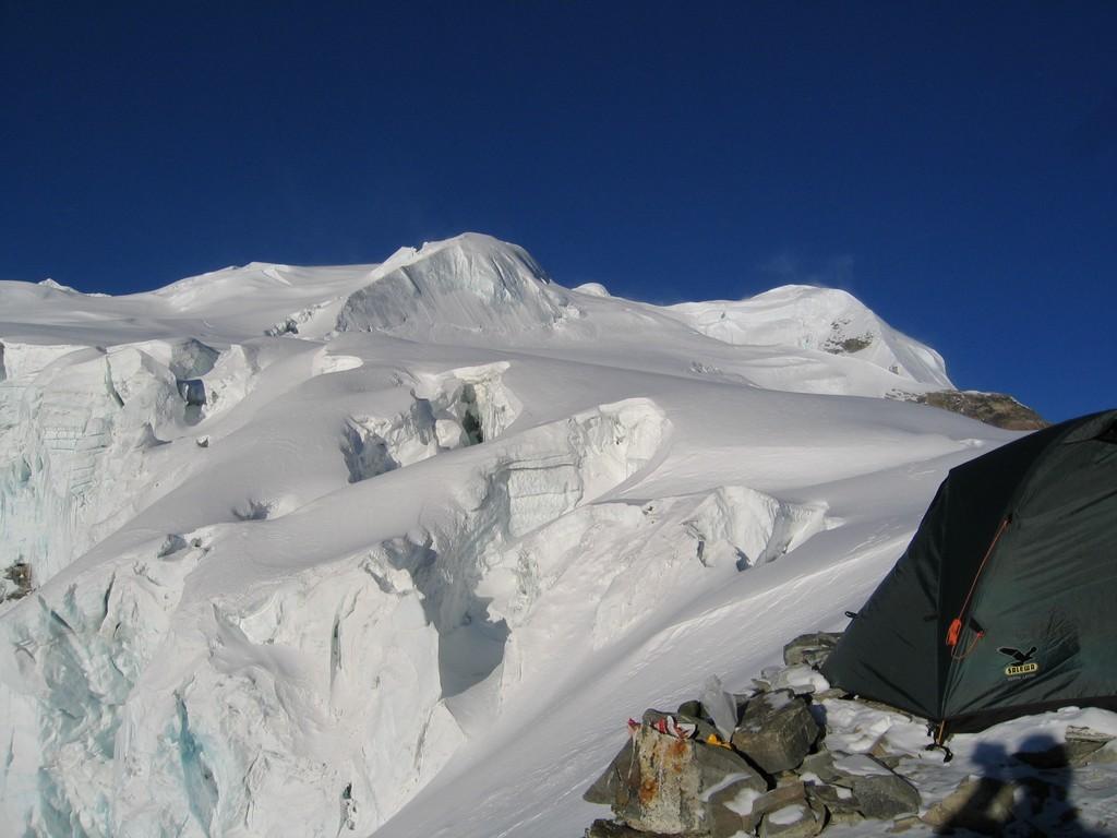 High camp du Mera peak
