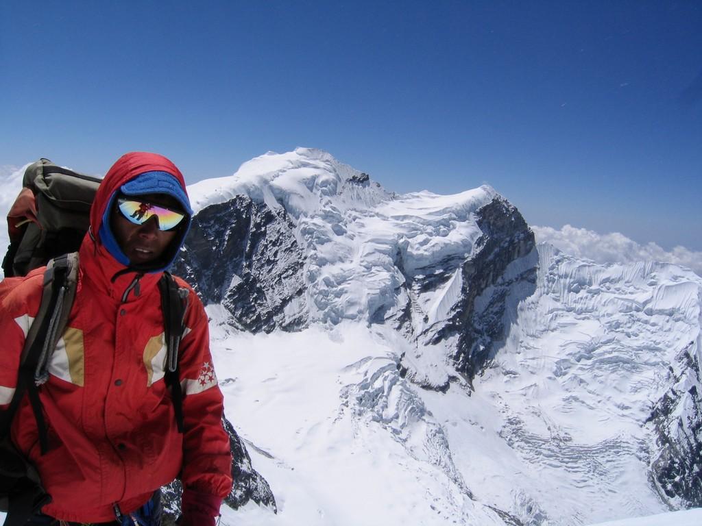 Vue depuis le Mera peak
