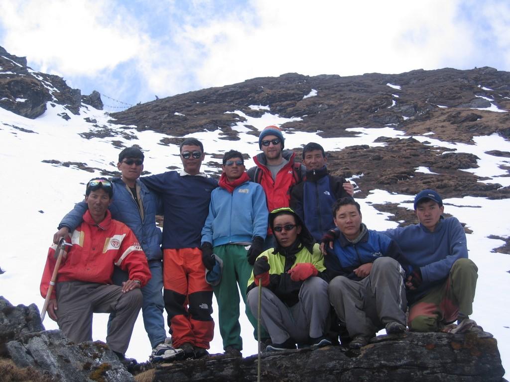 Col du Zatrwa la, retour du Mera peak