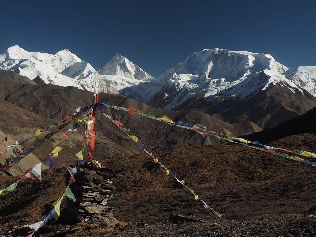 Camp de base du Pokarkang, Népal